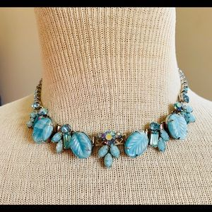 Vintage Signed Weiss Choker Necklace Austrian